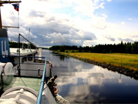 Экскурсия по Сайменскому каналу