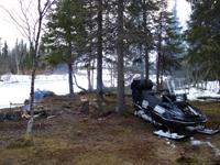 Поход на снегоходах по Мурманской области